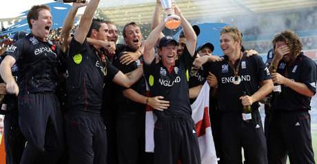 Reigning champions England face a tough challenge to retain the trophy. That bloke on the left will be missed...