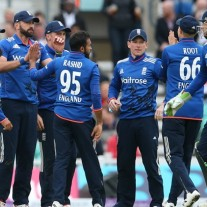 England's ODI side, ably led by Eoing Morgan, centre, is starting to take centre stage in English cricket for the first time