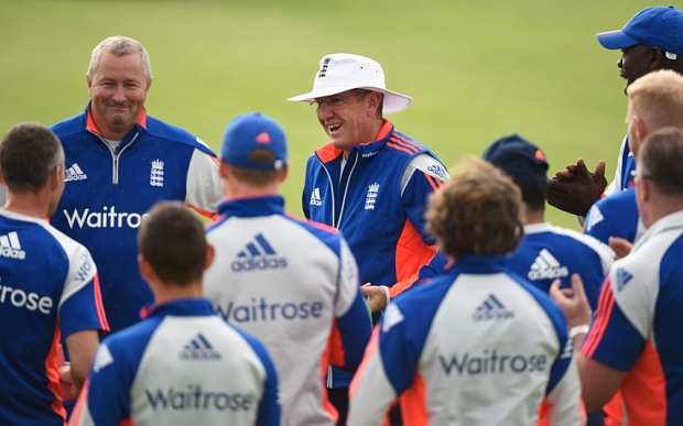 Paul Farbrace, left, and Trevor Bayliss have overseen a transformation in England's limited overs fortunes