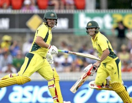 Aaron Finch, left, and David Warner were viewed as the best limited overs opening partnership in world cricket 12 months ago, yet their partnership was inexplicably disbanded for the World T20 by Australia