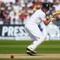 Ian Bell guides another boundary down through third man en route to 109 at Trent Bridge in 2013