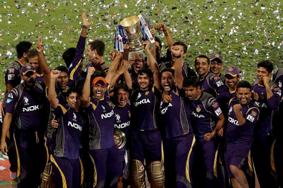 Kolkata Knight Riders have now won two of the last three IPLs.