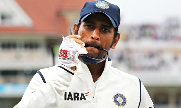 MS Dhoni briefly took India to the top of the ICC Test rankings, but his failures outside of India were marked