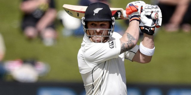 Former New Zealand captain Brendon McCullum delivered the 2016 MCC Spirit of Cricket Cowdrey Lecture at Lord's