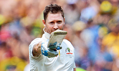 Australian skipper Michael Clarke enjoyed a stunning 2012