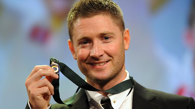 Michael Clarke wins our prestigious Player of the Year award for a second time. He's delighted