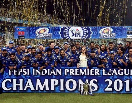 Mumbai Indians are defending their IPL crown, but you wouldn't know that judging by the BBC's cricket coverage