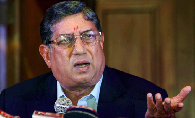 N Srinivasan is man with deep rotted conflicts of interest