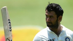Cheteshwar Pujara acknowledges another milestone - a familiar scene in Indian cricket