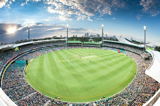 The Sydney Cricket Ground hosts its final game of the 2015 Cricket World Cup when Australia and India face off for a final berth