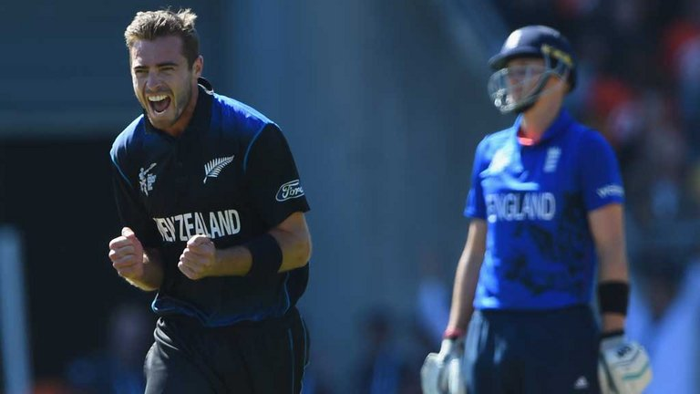 Tim Southee has the most wickets so far, aided by 7/33 against England