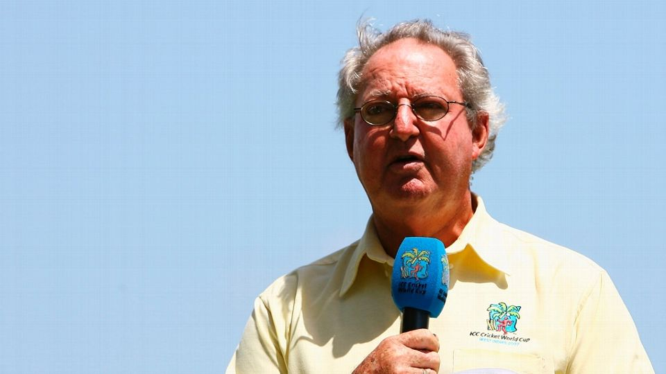 Tony Cozier was one of cricket's iconic voices