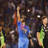 Virat Kohli is pointing India firmly in the right direction