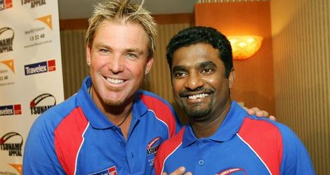 Some figures and personalities have more influence over the field of spin bowling than others. We have been very fortunate to have had Shane Warne, left, and Muttiah Muralitharan in the game in recent years.