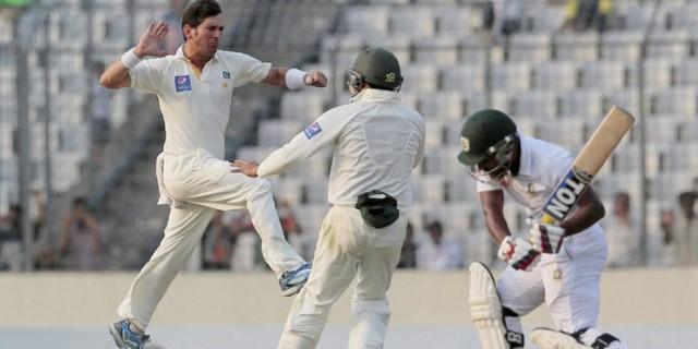 Yasir Shah has been the star of Pakistan's tour of Sri Lanka