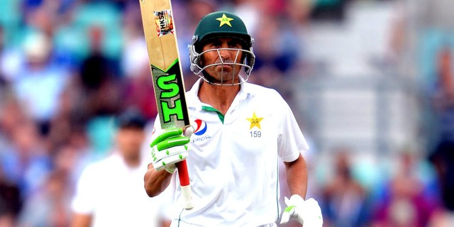 Younis Khan put on a batting masterclass against spin (an every other type of bowling!) at the Oval for Pakistan against England