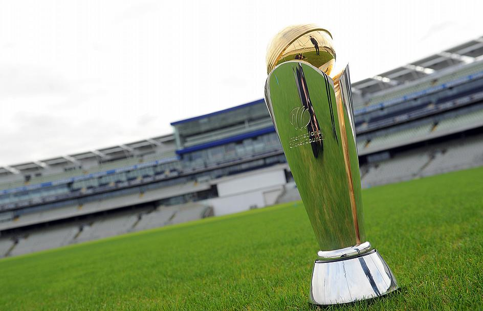 The Champions Trophy trophy lies in wait at Edgbaston
