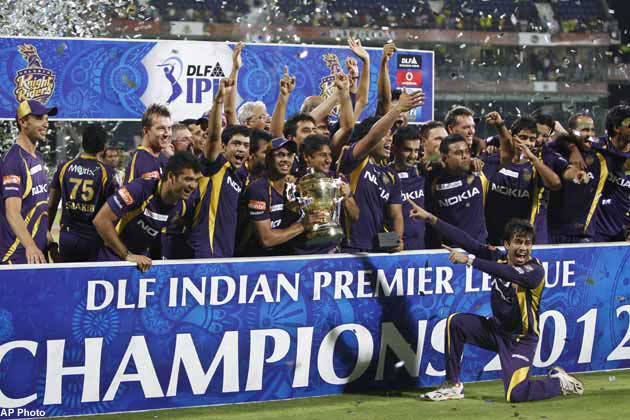 Kolkata Knight Riders are the defending IPL champions