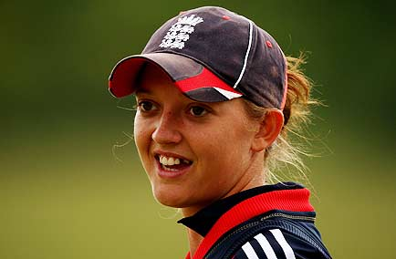 Sarah Taylor, the England keeper, has the world at her feet
